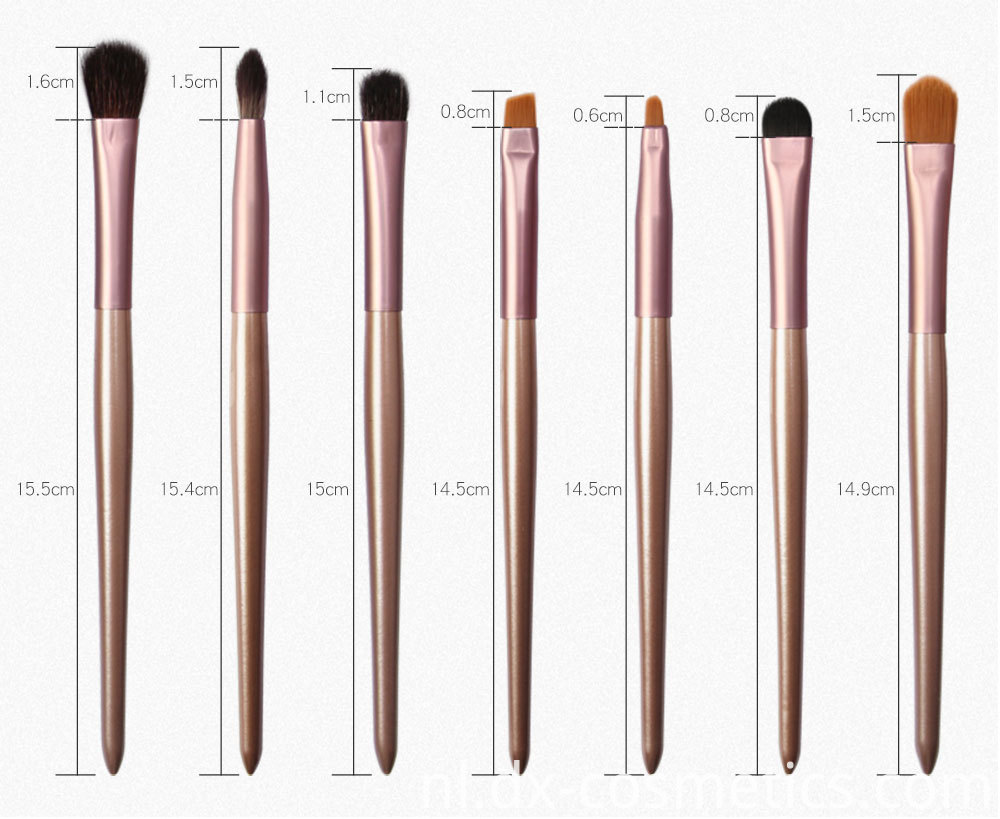 12 Pieces Grapelet Makeup Brush Set Hot7