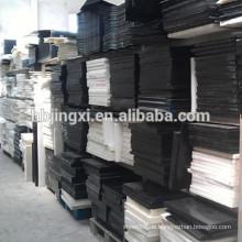 Weiße und schwarze POM-Kunststoffplatte