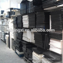 White and Black POM Plastic Sheet