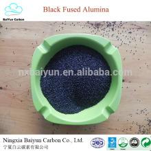 цена на природный Корунд для полировки и пескоструя 80-85% черный оксид алюминия