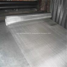 Filtre en tissu de fil d'acier noir de formes rondes / carrées