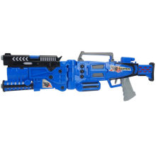Som e Flash Boy Gift Militar Super Gun Toy Gun