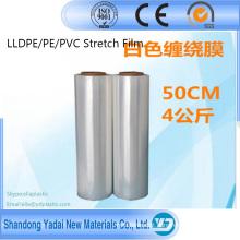 Película de estiramento do filme de estiramento LLDPE 42kg da pálete da carcaça / filme do envoltório estiramento