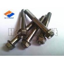 M10 titanium hex flange bolt GR5