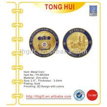 Металлическая памятная монета, сувенирная монета для Attache HK