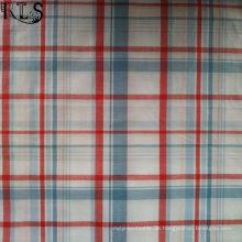 100% Baumwolle Popeline gewebt Garn gefärbt Stoff für Shirts / Kleid Rls40-47po