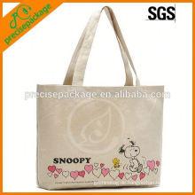 Neuankömmling Eco freundliche BaumwollEinkaufstasche mit Blumen