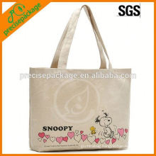 new arrival eco friendly Cotton tote bag with flowers