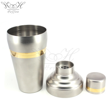 Japanese Cocktail Shaker 510ml Gold e finitura opaca