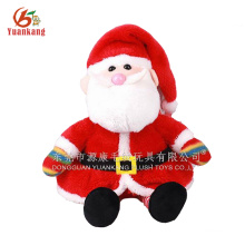 Pai Natal brinquedos de pelúcia e brinquedos de pelúcia Papai Noel sentado