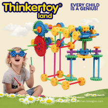 Jouets plastiques intellectuels et éducatifs pour enfants Bâtiments plastiques