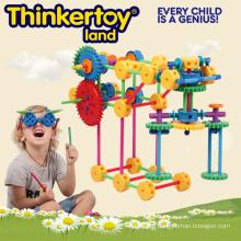 Plastic Intellectual & Educational Toys for Kids Plastic Building Blocks