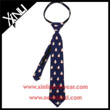 China Fábrica Por Atacado Perfeito Pescoço Nó BB8 School Student Zipper Tie