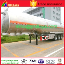 50tons 3axle Fuel Water Tanker Alloy Aluminum Tank Semi Trailer
