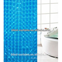 3D effect shower curtain / shower roller blind with waterproof