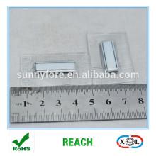 square PVC magnet button