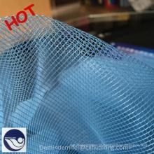 100% poliéster macio anti tecido mosquiteiro cortina
