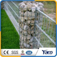 Hot sale protecting Galvanized 4mm wire welded gabion baskets gabion box