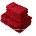 Maroon Bath Towels