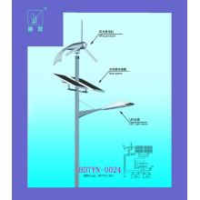 Wind and Solar Hybrid System Street Light