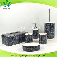 Bad Geschenk-Set mit schwarzer Farbe und spezielle Abziehbild