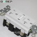 Tomacorriente dúplex con toma de corriente a medida GFCI Electrical