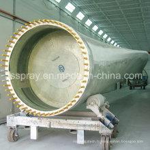 Grande cabine de pulvérisation de peinture industrielle non standard