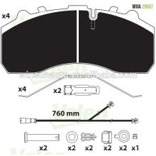 29087 LKW Bremsbelag für BPW / MAB / MB / SCANIA / DAF / SAF europäischen LKW & Anhänger