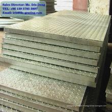 Radeau en acier galvanisé, grille galvanisée, passerelle galvanisée