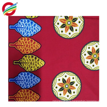 Wholesale pure polyester veritable african wax woven fabric