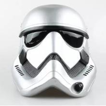 Weiß 1: 6 Scale Down Helm maßgeschneiderte Kunststoff Hut Puppe Spielzeug