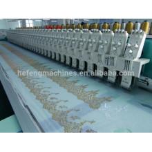 56 cabeças de rendas bordados máquina