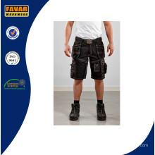 Multi-Taschen kurze billige Cargo Shorts / Mens Hosen / Shorts Jeans / Shorts schwarz