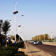 50W fora da luz de rua de poupança de energia solar do diodo emissor de luz do vento da grade