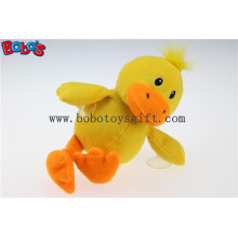 """7""""Cheap Price Custom Stuffed Yellow Duck Animal Toys with Plastic Suction Cups Bos1138"""