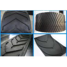 ISO9001 Chevron Pattern Förderband Gürtel