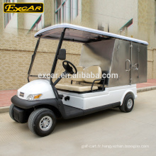 Chariot de service électrique de 4 roues à vendre avec le prix concurrentiel