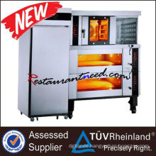 K137 Electric 4-Tray Convection Oven & 4-Tray Deck Oven & 16-Tray Electric Freezing Proofer Combination