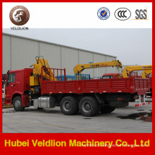 Euro 2 Mobile 10 Tons Folding Boom Truck with Crane