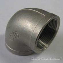 Raccord de tuyaux en acier inoxydable avec moulage de cire perdue