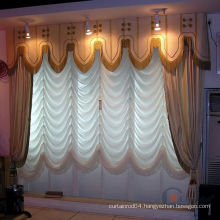 Fan Shaped Window Roman Curtains and Blinds
