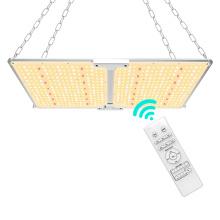 LED de 200 W sem fio regulável com cobertura vegetativa de crescimento de luz