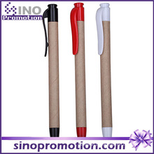 Eco-Friend e Caneta Esferográfica Clique em Plástico