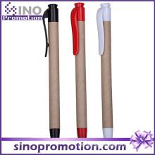 Eco-Friend and Plastic Click Ballpoint Pen