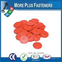 Made In Taiwan Plastic Flat Washer Black Nylon Reinforced Rubber Fender Thrust Round