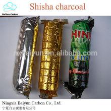 33mm Shisha Charcoal De alta qualidade Natural Hookah de madeira Shisha Charcoal