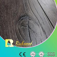 Suelo de madera laminado en HDF de roble HDF grabado en relieve de 12 mm