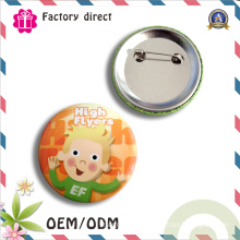 High Quality Factory Tin Button Badge Plastic Badge