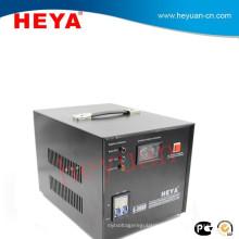 Single phase 5kw servo motor 220v/110v ac voltage protector with analog display