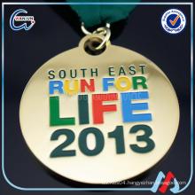 with ribbon custom olympics souvenir medal